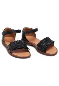 Czarne sandały Froddo