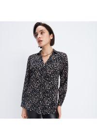 Mohito - Wzorzysta koszula - Czarny. Kolor: czarny