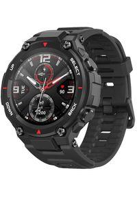 AMAZFIT - Amazfit smartwatch T-Rex, Rock Black. Rodzaj zegarka: smartwatch. Kolor: czarny. Styl: rockowy