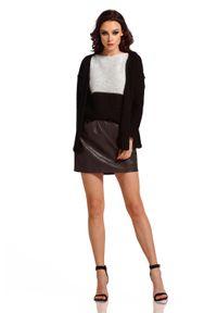 Czarny sweter oversize Lemoniade