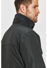 Czarna kurtka columbia casualowa, na co dzień, z kapturem