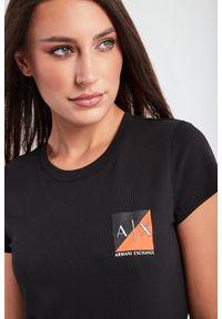 Armani Exchange - T-SHIRT ARMANI EXCHANGE. Materiał: bawełna. Wzór: nadruk