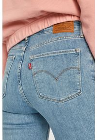 Niebieskie jeansy Levi's® na spotkanie biznesowe, biznesowe