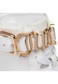Białe półbuty Juicy Couture Black Label na co dzień, z cholewką