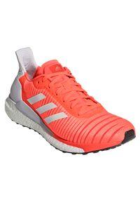 Adidas - Buty do biegania damskie adidas Solar Glide EE4334. Zapięcie: sznurówki. Materiał: materiał, guma. Szerokość cholewki: normalna
