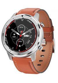Pomarańczowy zegarek GARETT smartwatch, wakacyjny