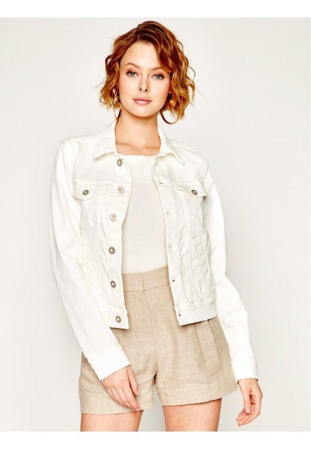 Biała kurtka jeansowa Marc O'Polo polo