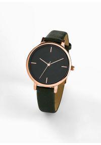 Zielony zegarek bonprix analogowy
