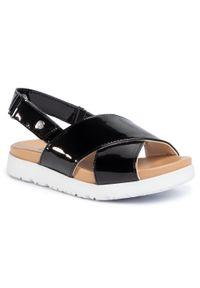 Czarne sandały Ugg