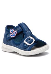Niebieskie sandały Superfit z aplikacjami, casualowe
