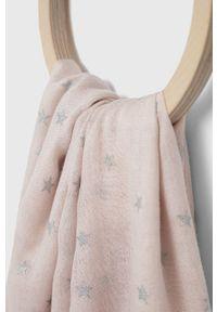 Answear Lab - Szal. Kolor: różowy. Styl: wakacyjny