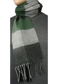 Zielony szalik V. Fraas na jesień, elegancki