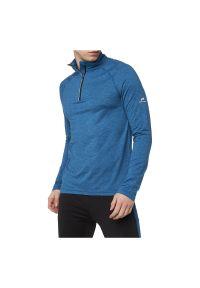 Pro Touch - Bluza męska do biegania PRO TOUCH Cusco 280593. Typ kołnierza: kołnierzyk stójkowy. Materiał: tkanina, poliester, materiał, elastan. Długość rękawa: długi rękaw. Długość: krótkie