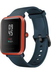 AMAZFIT - Smartwatch Amazfit Bip S Granatowy (W1821OV4N). Rodzaj zegarka: smartwatch. Kolor: niebieski
