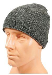 Szara czapka Pako Jeans na zimę