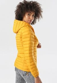 Born2be - Żółta Kurtka Lagula. Kolor: żółty