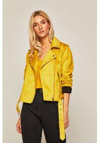 Żółta kurtka medicine bez kaptura