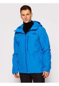 The North Face Kurtka narciarska Descendit NF0A4QWWW8G1 Niebieski Regular Fit. Kolor: niebieski. Sport: narciarstwo