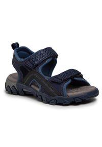 Niebieskie sandały Superfit na lato