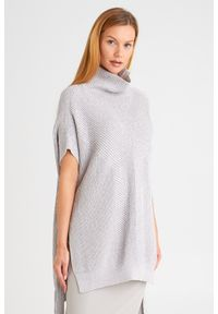 Sweter Max Mara Leisure z golfem, do pracy
