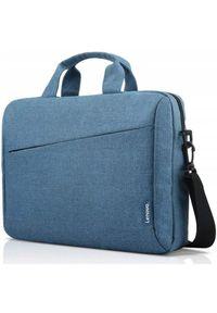 Niebieska torba na laptopa LENOVO casualowa