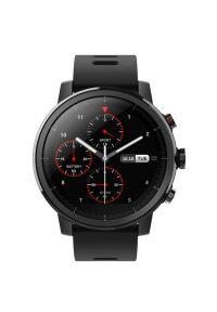 Czarny zegarek Xiaomi sportowy, smartwatch
