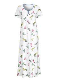 Cellbes Długa koszula nocna we wzory female ze wzorem 34/36. Długość: długie. Wzór: kwiaty