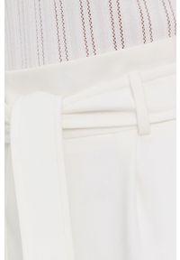 Morgan - Spódnica. Okazja: na co dzień. Kolor: biały. Materiał: tkanina. Wzór: gładki. Styl: casual