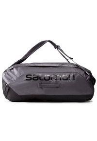 Czarna torba sportowa salomon