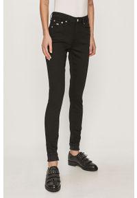 Czarne jeansy Tommy Jeans z podwyższonym stanem