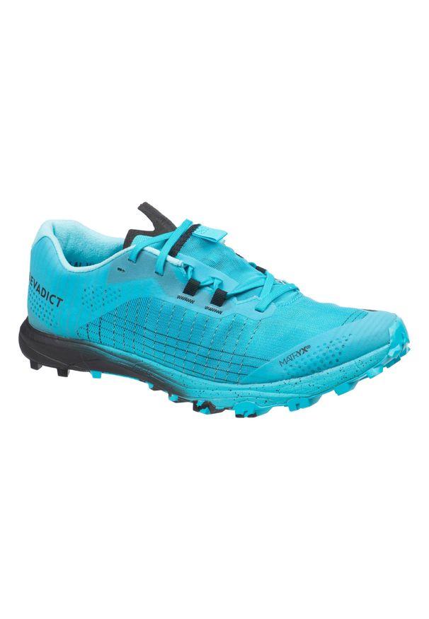 EVADICT - Buty do biegania w terenie Race Light męskie. Kolor: niebieski, wielokolorowy, turkusowy