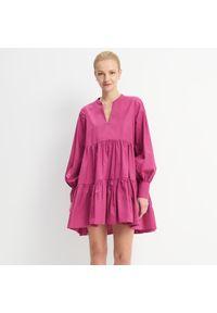 Fioletowa sukienka Mohito