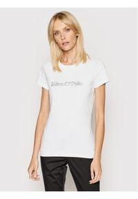 Marc O'Polo T-Shirt B01 2293 51083 Biały Regular Fit. Typ kołnierza: polo. Kolor: biały