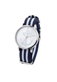 Niebieski zegarek bonprix