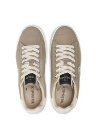 Trussardi Jeans - Trussardi Sneakersy 77A00336 Szary. Kolor: szary