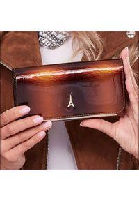 Brązowy portfel PARIS DESIGN