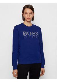 Fioletowa bluza BOSS