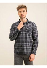 Diesel Koszula S-East-Long-N 00S96C 0SAXQ Szary Regular Fit. Kolor: szary