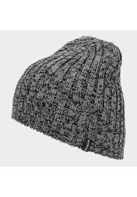 Szara czapka zimowa Everhill melanż