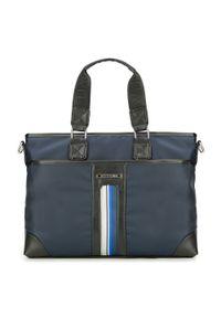 Niebieska torba na laptopa Wittchen elegancka