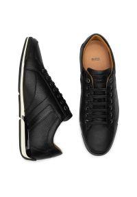 Czarne sneakersy BOSS