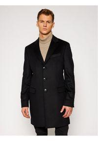 Czarny płaszcz przejściowy TOMMY HILFIGER