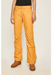 Żółte spodnie sportowe Roxy
