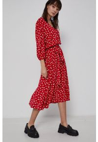 medicine - Medicine - Sukienka Essential. Materiał: tkanina. Typ sukienki: rozkloszowane