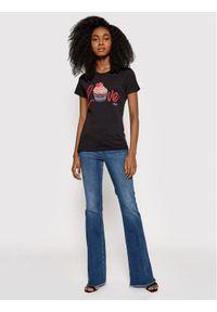 Niebieskie jeansy bootcut Liu Jo #4