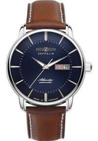 Niebieski zegarek Zeppelin