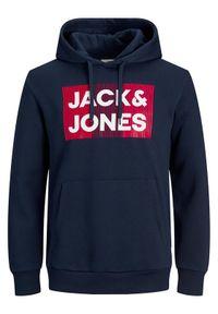 Jack & Jones - Jack&Jones Bluza Corp 12152840 Granatowy Blazer Fit. Kolor: niebieski