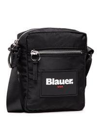 Blauer - Saszetka BLAUER - S1COLBY02/TAS Black. Kolor: czarny. Materiał: materiał