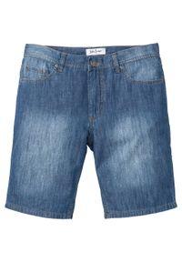 Bermudy dżinsowe z letniego denimu Regular Fit bonprix niebieski denim. Kolor: niebieski. Sezon: lato