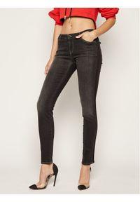 Szare jeansy slim Emporio Armani